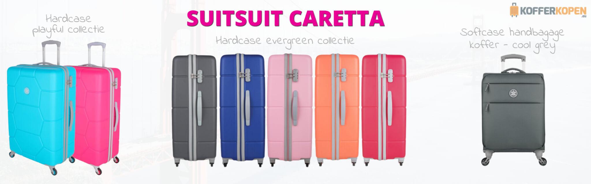 suitsuit caretta koffers kleuren hardcase softcase