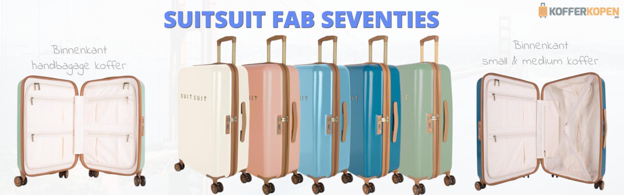 suitsuit fab seventies koffers kleuren binnenkant