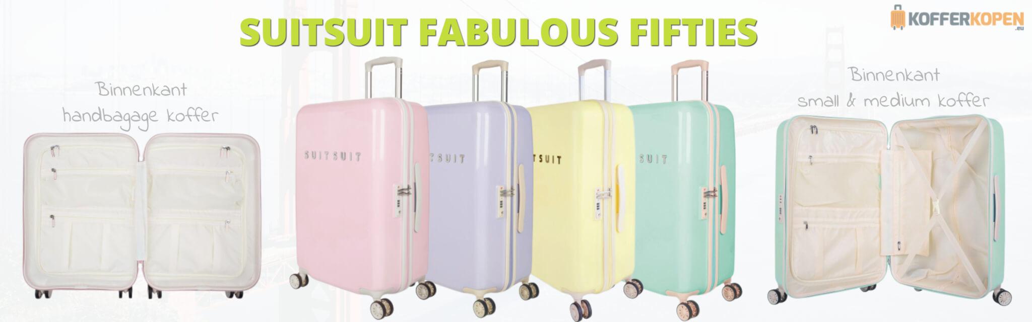 suitsuit fabulous fifties koffers kleuren binnenkant